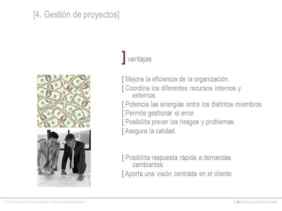 ] ventajas [4. Gestión de proyectos]